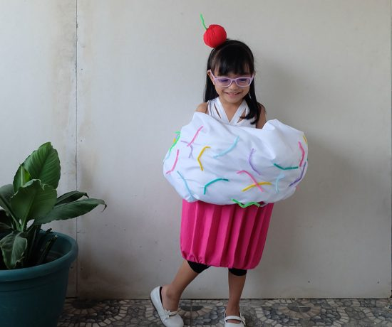DIY Cutie Cupcake Costume Tutorial