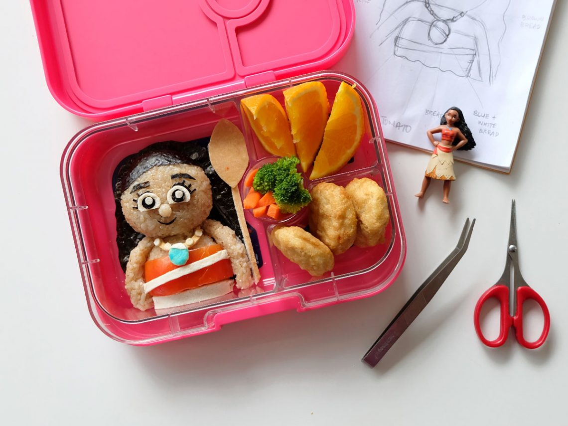 Moana Bento Food Art