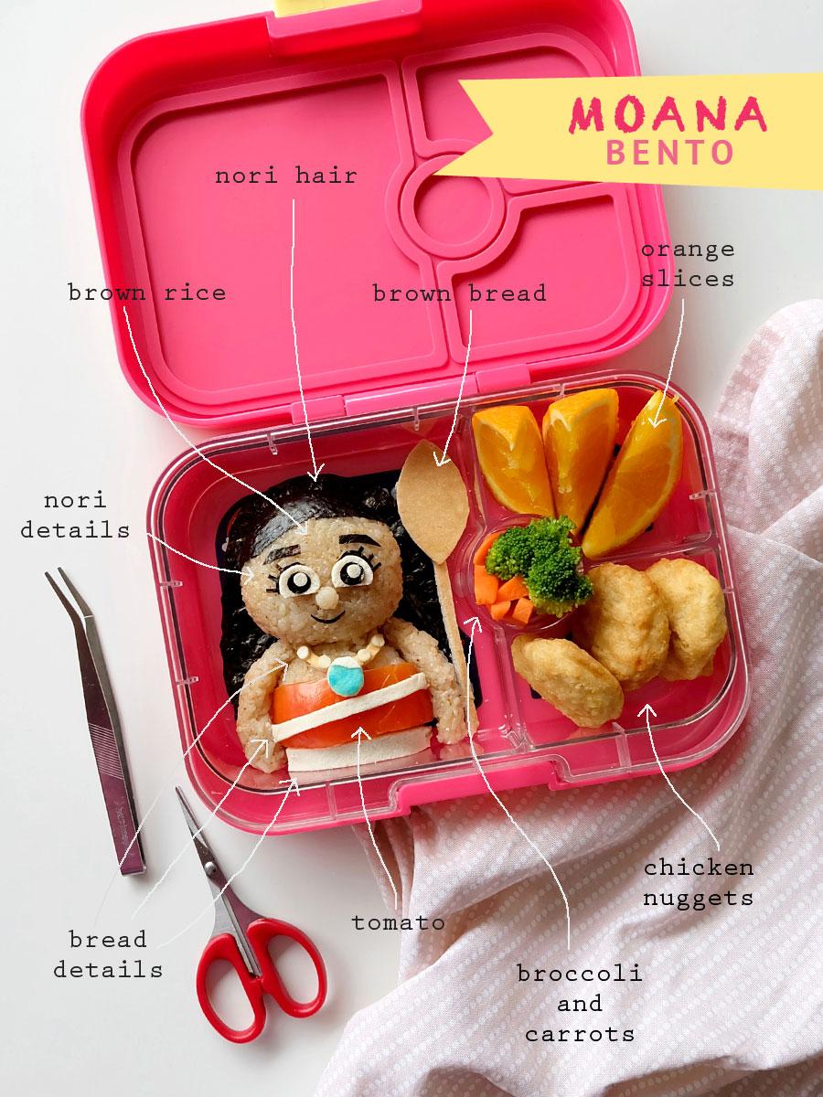 Moana Bento Food Art