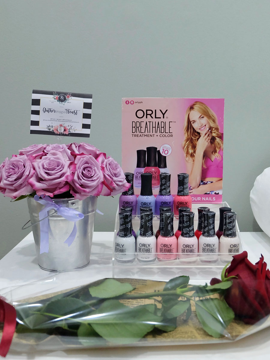 Mothers Who Brunch: Orly Breathable polishes, and Ecuadorian roses from Flowers by Yumi