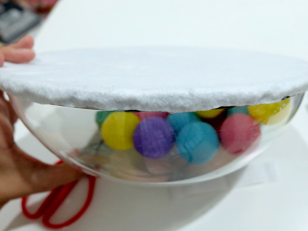 DIY No-Sew Gumball Machine Costume Tutorial
