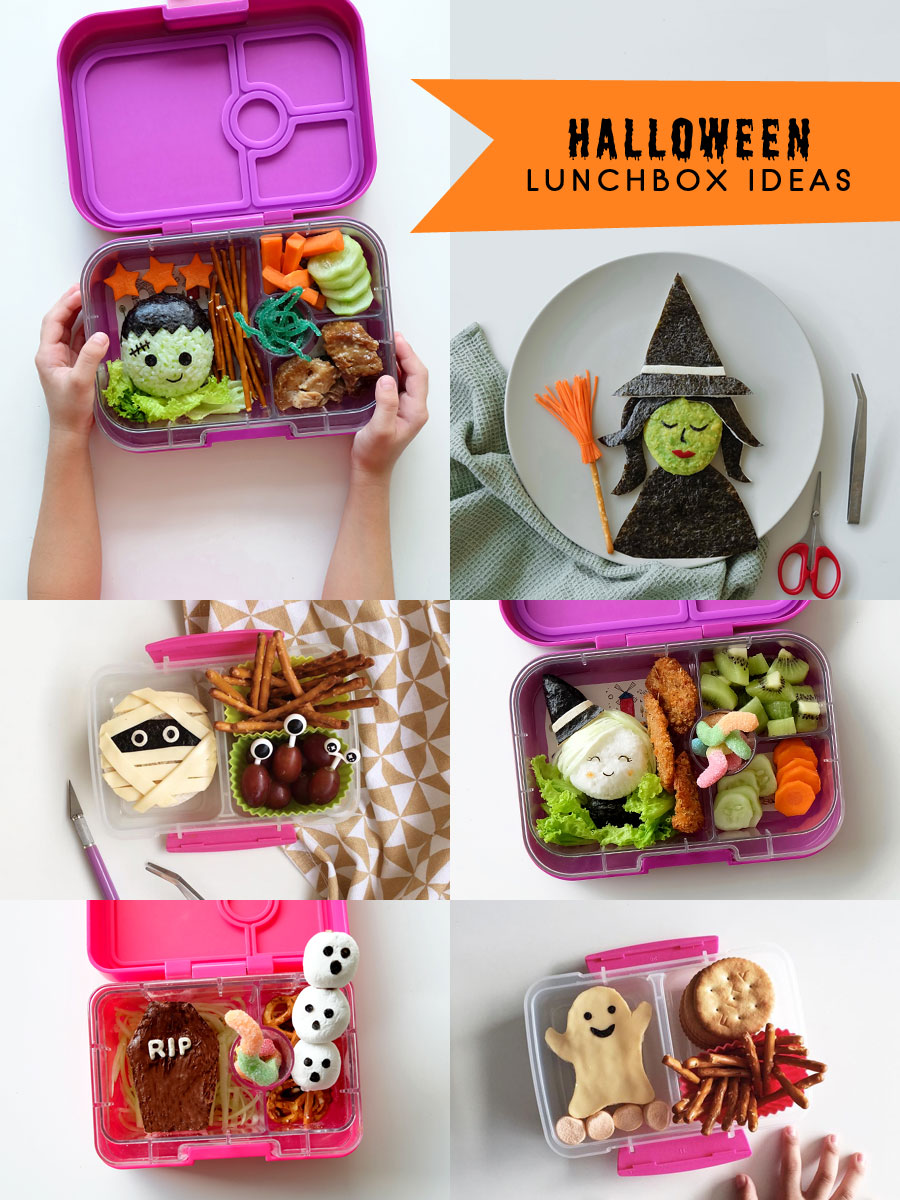 Halloween Lunchbox Ideas: Halloween Bento Food Art