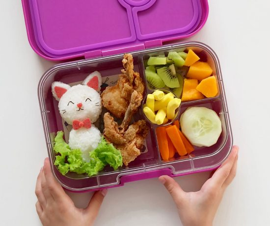 Lunchbox Love: Cat Bento inside The Yumbox