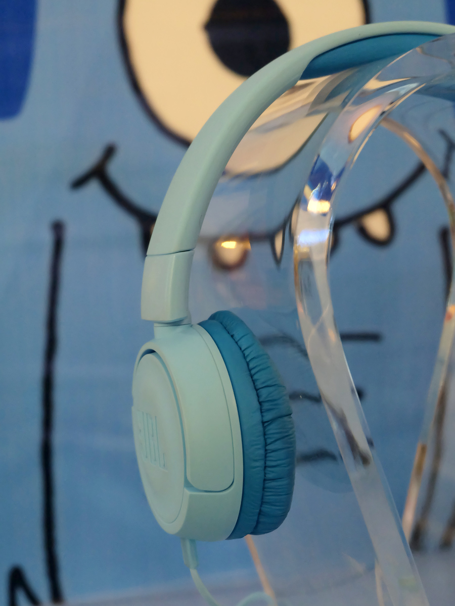 JBL Jr Headphones Launch at Kidzania Manila: JBL JR300 in Ice Blue