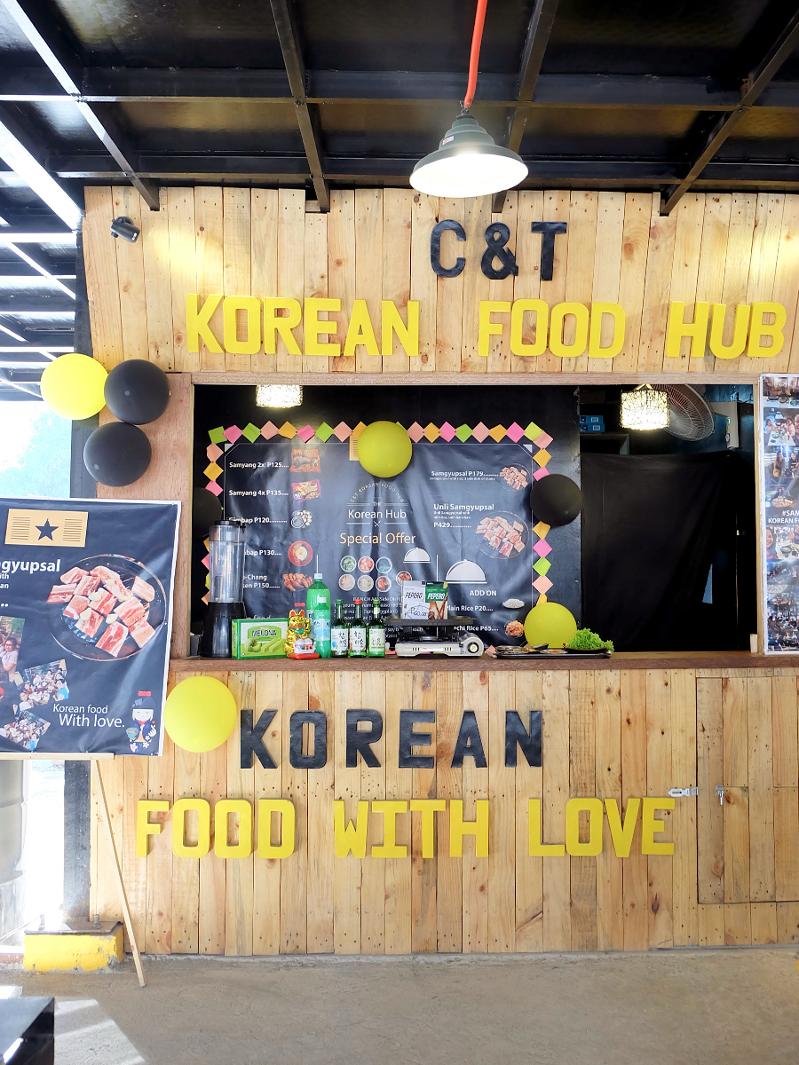 Hoops and Noms: Taft Food by the Court. C&T Korean Food Hub
