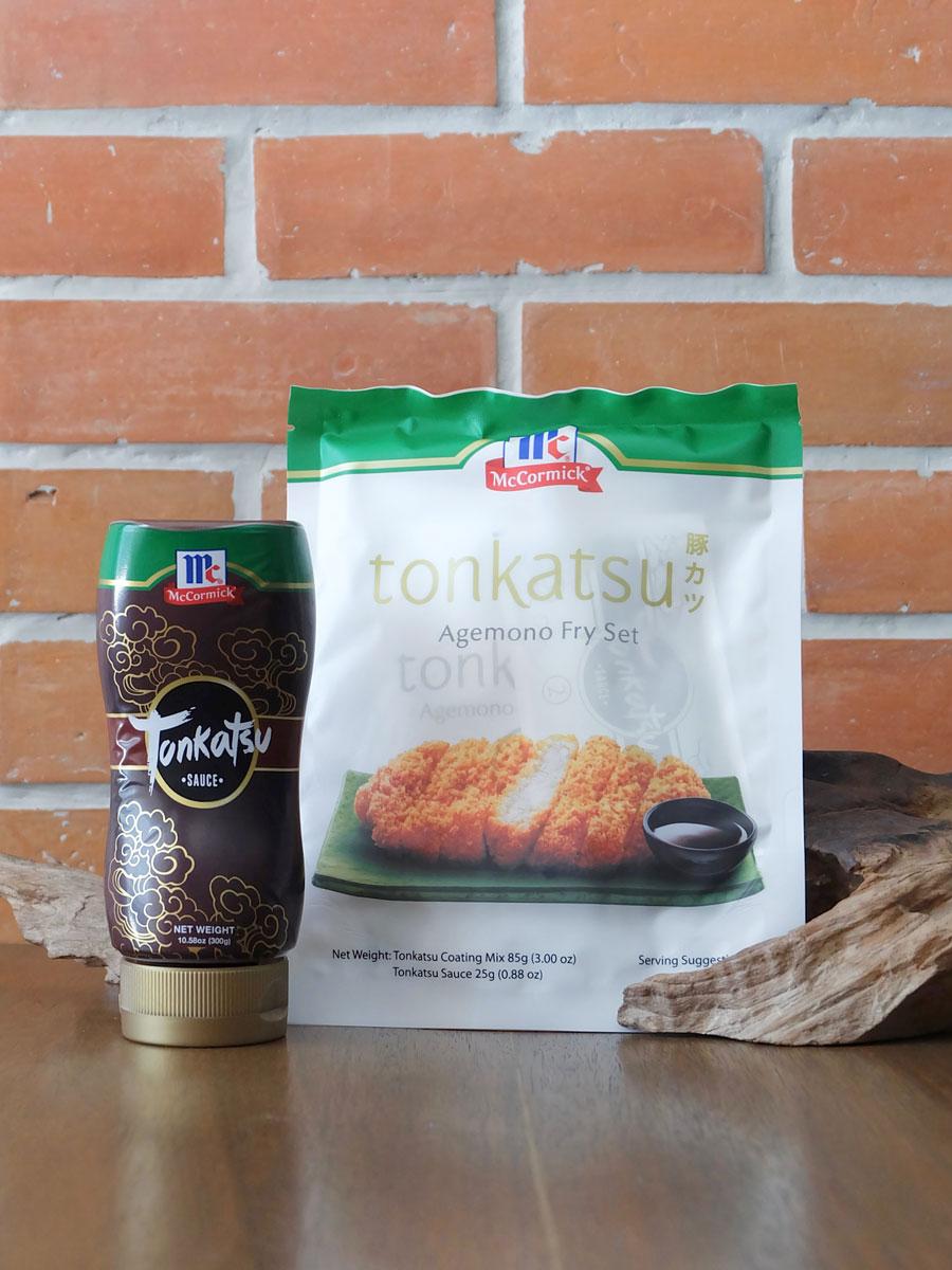 McCormick Tonkatsu Agemono Fry Set with Tonkatsu Sauce