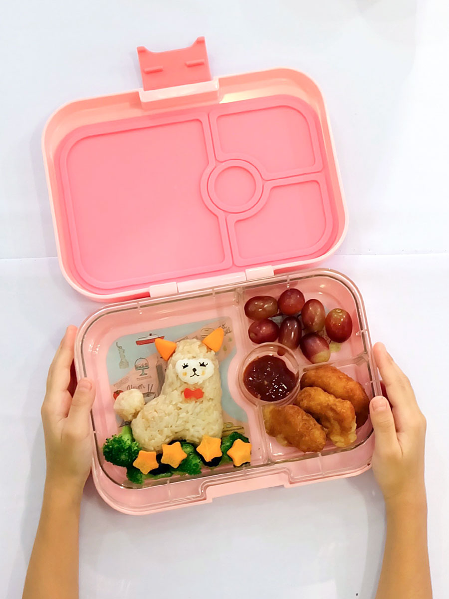 Our Baby Alpaca at the First Yumbox Workshop with Bright Brands and Bento by Kat