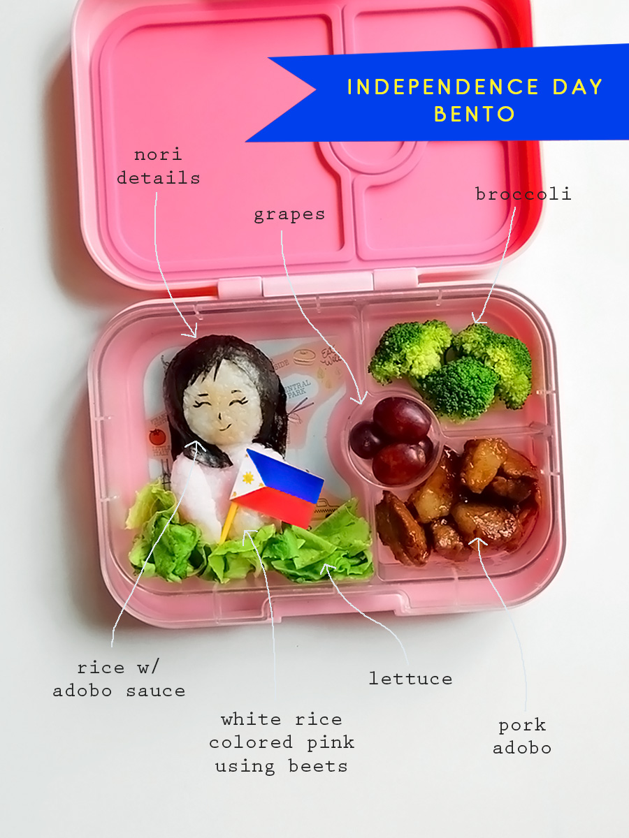 Philippine Independence Day Bento