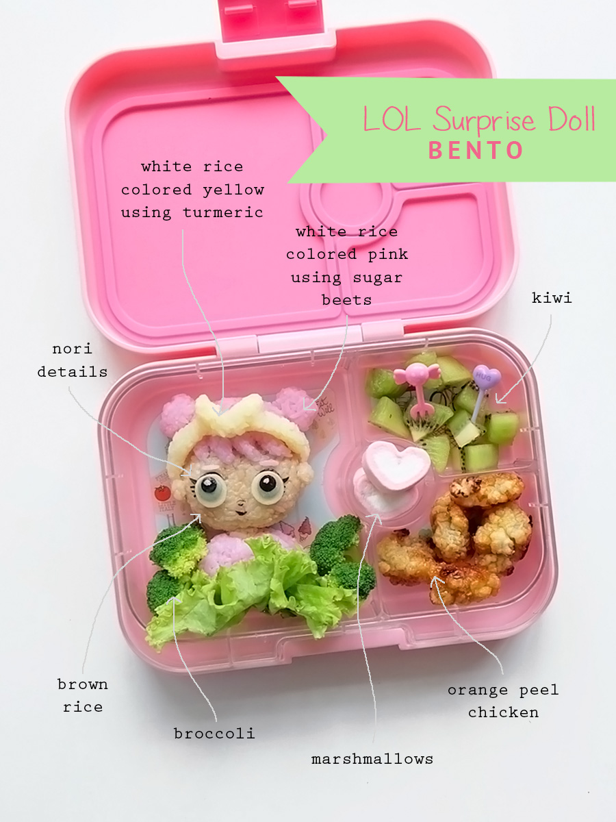 LOL Surprise Doll Bento