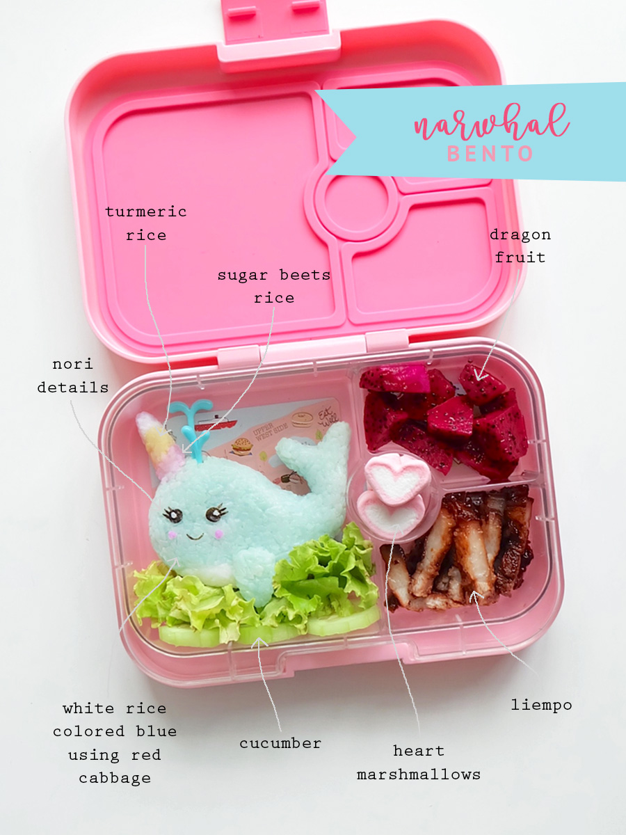 Narwhal Bento
