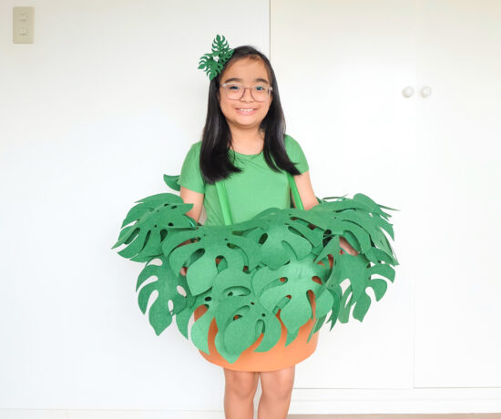 Monstera Deliciosa Costume by A Crafted Lifestyle